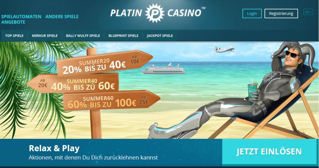Platin Casino App: Was hat die mobile Variante des Platin Casinos zu bieten?